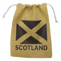 Jute Printed Drawstrings Bags