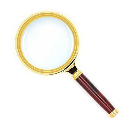 MAGNIFIER, WITH HANDLE