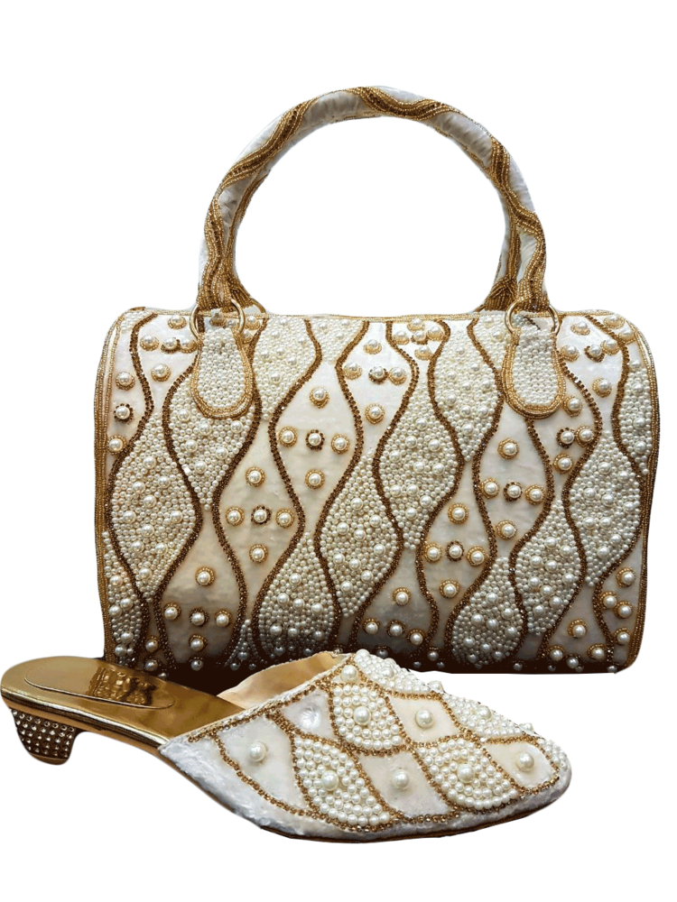 Wedding Women's Sandal & Matching Bags