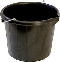 PAIL, OR BUCKET, POLYTHENE