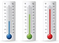 THERMOMETER CENTIGRADE MERCURY