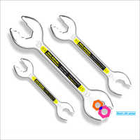 Metric Open-Ended Ratcheting Wrench