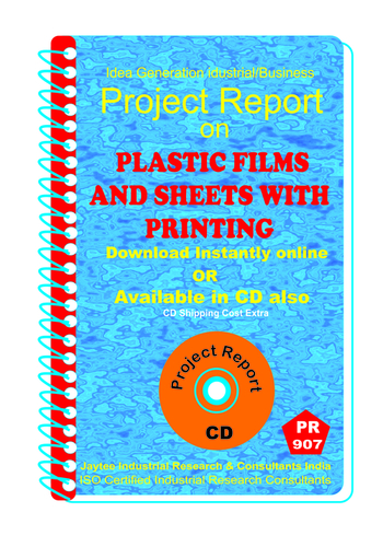 Plastic Films and Sheets With Printing Manufacturing eBook