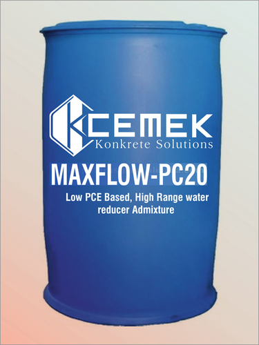 PCE Based Water Reducer Admixture