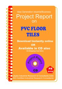 PVC Floor Tiles Manufacturing Project Report Book