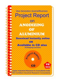 Anodizing of Aluminium Manufacturing Project Report Book