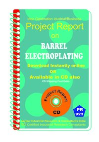 Barrel ElectroPlating Manufacturing Project Report Book