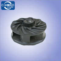 Impeller of pump rubber parts