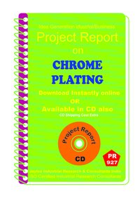 Chrome Plating Manufacturing Project Report Book
