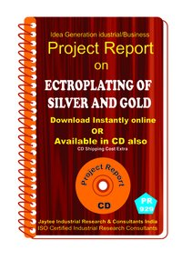 ElectroPlating of Silver and Gold Manufacturing Book