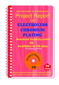 Electroless Chromium Plating Project Report Book