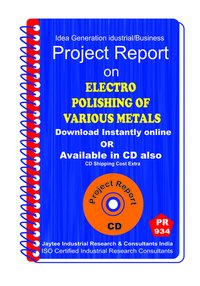 ElectroPolishing of Various Metals Manufacturing Book