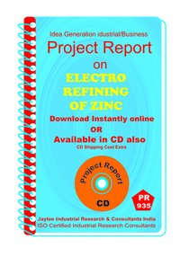ElectroRefining Of zinc Manufacturing project Report Book
