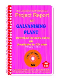 Galvanishing Plant Manufacturing Project Report Book
