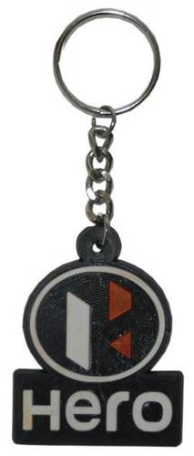 HERO RUBBER KEYCHAIN