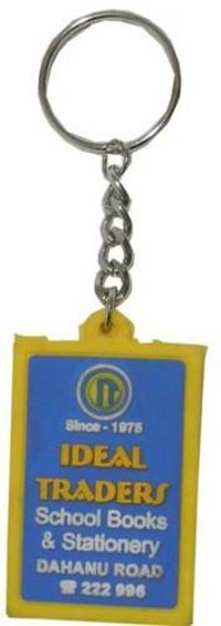 IDEAL TRADERS RUBBER KEYCHAIN
