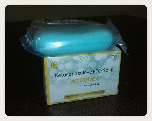 Ketoconazole 2% with ZPTO 1% SoapA A  75gm