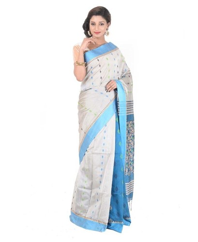 Fancy Handloom Cotton Saree
