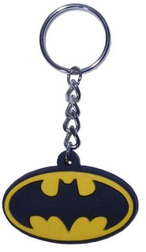 OVAL TYPE RUBBER KEYCHAIN