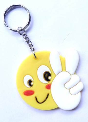 SMILE CAT KEYCHAIN
