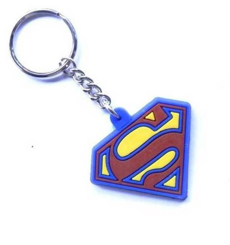 SUPERMAN TYPE KEYCHAIN