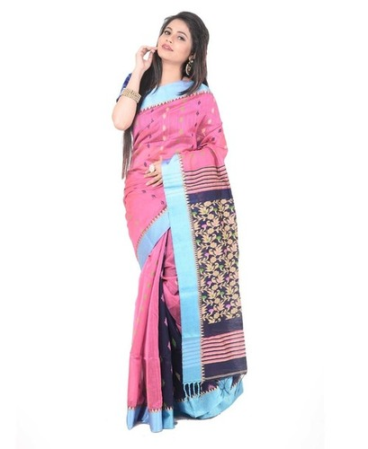 Designer Handloom Cotton Saree