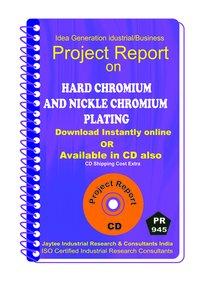 Hard Chromium and Nickle Chromium Plating Manufacturing eBook