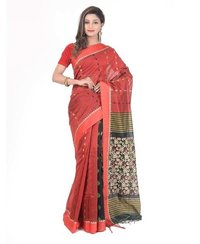 Pure Handloom Cotton Saree