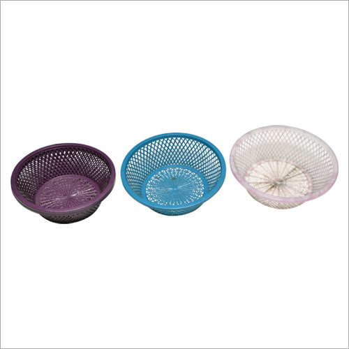 Durable Round Plastic Basket