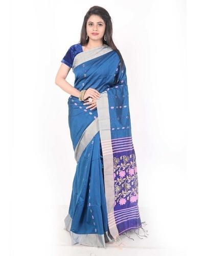 Ladies Handloom Cotton Saree