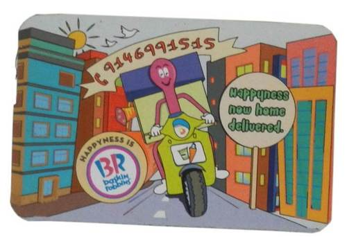 HAPPYNESS NOW HOME DELIVERED MAGNET