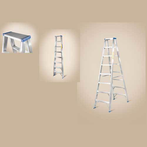 Double Section Straight Aluminium Ladder