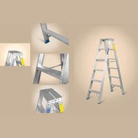 Heavy Duty Platform Aluminium Ladder