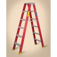 Fiberglass (FRP) Double Sided Ladder