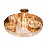 Bronze Thali Set