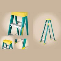 Fiber Glass (FRP) Single Sided Ladder