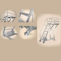 Aluminium Cantilever Staircase Ladder