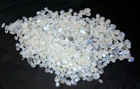 White Rainbow Moon Stone