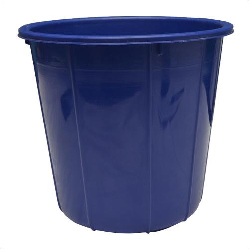 PP Blue Plastic Dustbin