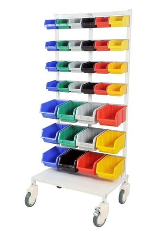 Modular Machine Trolley with 12 drawer