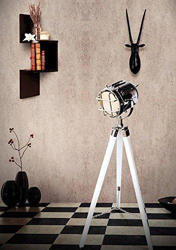 Nautical Spot Light Vintage Floor Lamp
