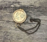 Brass Handmade Antique Working Compass