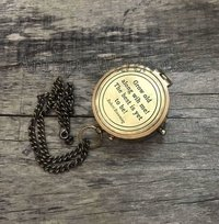 Marine Brass Ship Navigation Compass With Chain