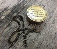 Nautical Maritime Pocket Compass Gift