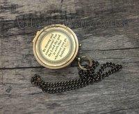 Working Brass Antique Compass