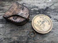Brass Boy Scout Marine Working Compass