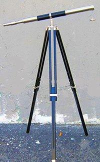 Single Barrel Brass Telescope 5 Feet
