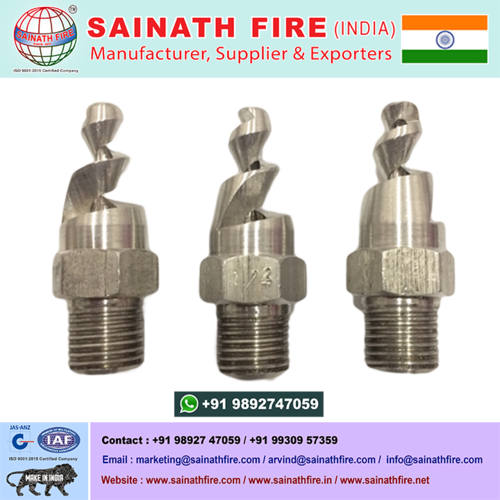 Stainless Steel Spiral Nozzle