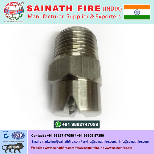 Stainless Steel Vee Jet Spray Nozzle Water Jet Nozzle