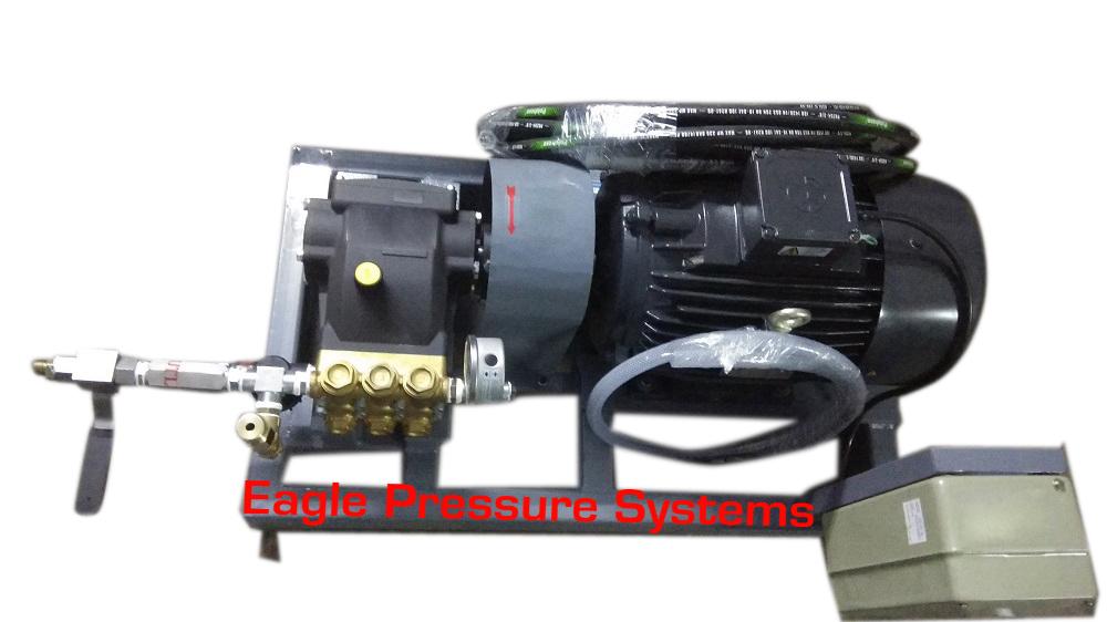 Water Pressure Testing Pump